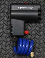 Dynaplug« Micro Pro Inflator. Included pressure guage, 12v cig plug, battery clips, terminal rings and extension.