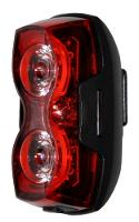 REAR LIGHT REAR DUAL EYES HIGH VISIBILITY 80 LUMENS 2 X AA BATTERIES INCLUDED