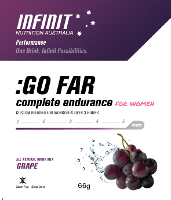 INFINITE GOFAR WOMENS GRAPE S/SERVE 10 SATCHELS/ BOX